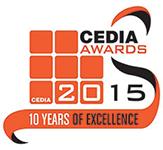 CEDIA 2015 Award logo 150px high
