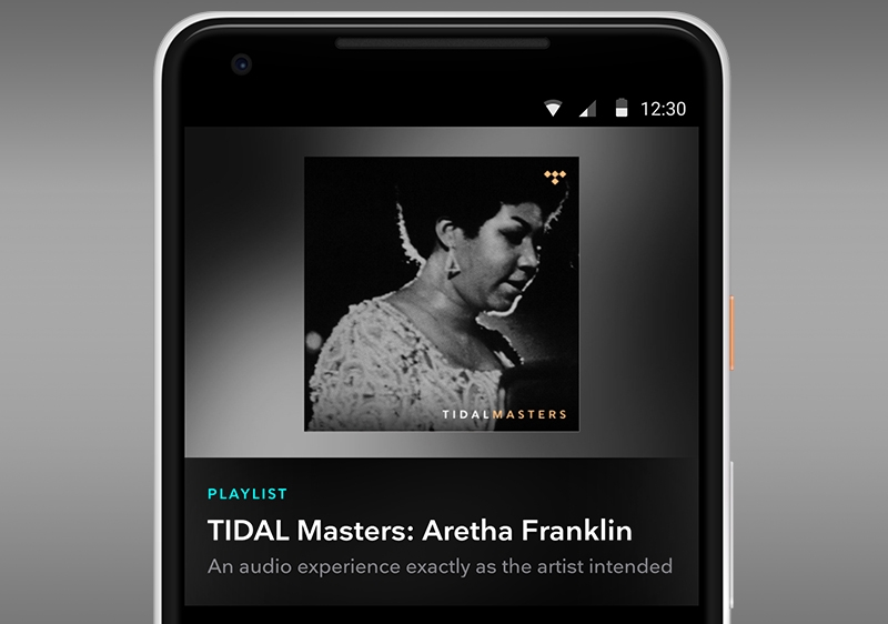 TIDAL Masters Now on Mobile